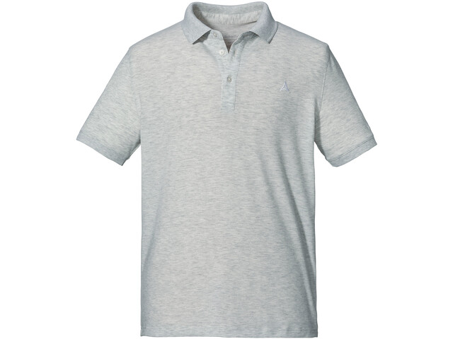 Schöffel Brisbane Polo Shirt Men, white alyssum